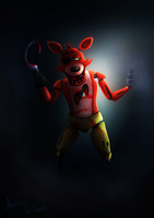 Foxy from Five nights at freddy's by SkybladeRus