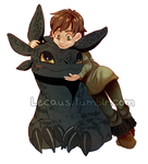 HTTYD Babes by DeathByGnome