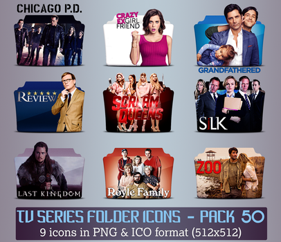 TV Series - Icon Pack 50 by apollojr