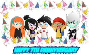 Happy 7th Dannyversary by darkkittyphantom