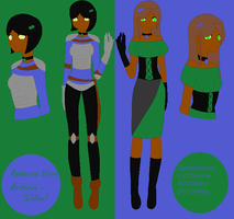 Raven and Demi profiles - Thief OC's by zutarianxtaang
