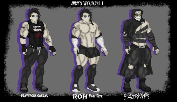 Joey's Wardrobe 1 by Joey-Murder
