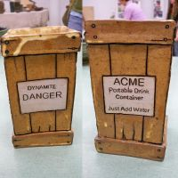 Acme Portable Drink Container by Xelioth