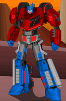 WFC Optimus Prime by DarkLordJadow