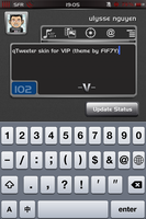 qTweeter skin for VIP by ulysseleviet