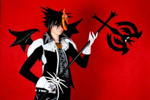 Sora Halloween Town 05 cosplay by 696Axel696