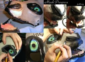 Mask Progress 2 by pattasy