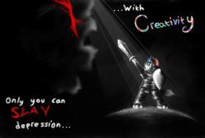 Depression vs Creativity by ShadeySix