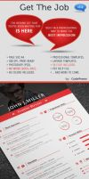 Get The Job - Business Card included by khaledzz9