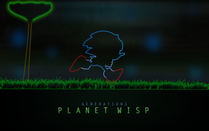 Planet Wisp Neon by darkfailure