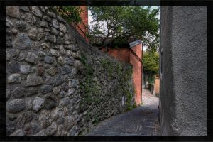 Alleys of Vesio di Tremosine 02 by deaconfrost78