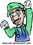 First Luigi Ever by Shao-Pix
