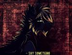 Say Something by Adelish