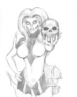 Silver Banshee Commission by ChrisMcJunkin
