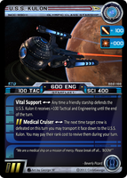 USS Kulon STO CCG Card by CodeGeorge