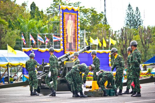 The Soldiers Of The King Thailand by numcomedu