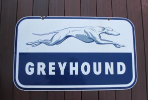 Greyhound Sign by boogster11