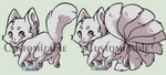 Canine/Kitsune Customizable by Belliko-art