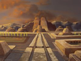 Tenochtitlan by Solfour