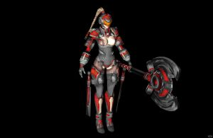 'Scarletblade' Aruna red XPS ONLY!!! by lezisell