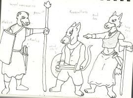 Cantonia project2:  evil doers by Woaddragon