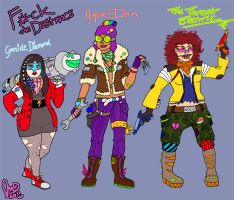 TANK GIRL GOT NOTHIN ON US by Voodoofish