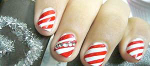 My Christmas Nails by Angelicsweetheart