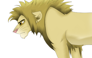 Hairy lion...? by Otome-Subversiva