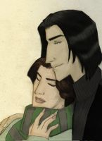 Severus and Evelyn- Winter by JosieCarioca