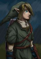 'Link Sketch' Coloured by thelegendoflauri