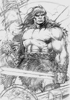Conan the Pirate Pencil by Asiri57