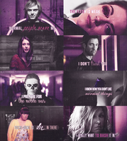american horror story - purple by Linds37