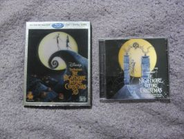Nightmare Before Christmas Movie and Soundtrack by MetroXLR99