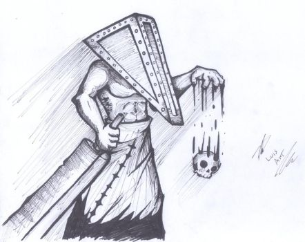 Pyramid Head by DFL by dragonflyluis