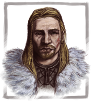 Ulfric Stormcloak by Gipokras