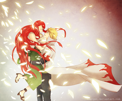 I feel that I can carry you in my arms all my life by Ndargen