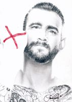 CM Punk by LCArtDesign