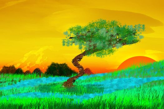 Why does a tree grow by amechopm