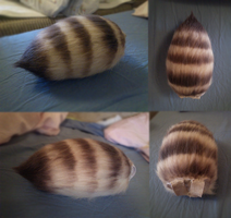Little Striped Tail FOR SALE by InsaneFern-Fursuits