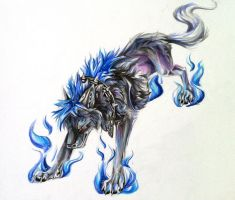 Sada Wolf by Lucky978