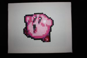 Perler Bead Kirby Sprite by Neo-Shadow-Bat