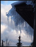 Scary icicles by Irkaaa