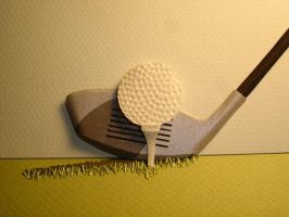 Golf Detail Mulligan by paperfetish