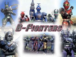 B-Fighter Collage by norcalwriter
