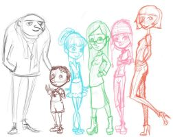 Despicable Family by Emiline729