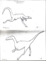Compsognathus and Ornithomimids by Theory-Of-Existence