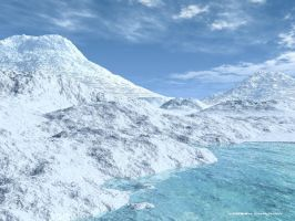 Somewhere in Antarctica by 2806
