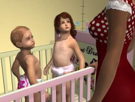 Scene from We Adopt You by areg5