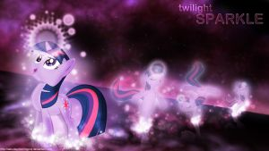 Twilight Sparkle wallpaper by saturdaymorningproj