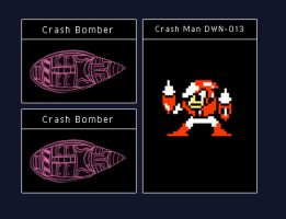 Data Disc: Crash Man by octobomb